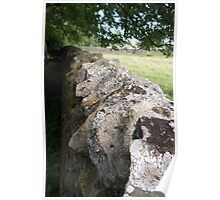 Northumbrian Stone Wall Poster
