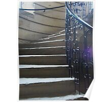 Stone stairs Poster