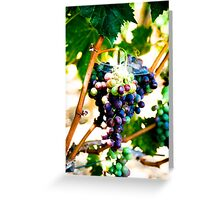 Grapes of Raph Greeting Card