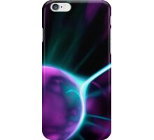 Solar flare (Plasma globe macro/photo manipulation) iPhone Case/Skin