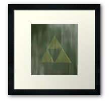 Gritty Triforce Framed Print