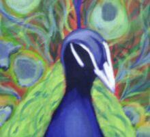 Dazzlin Peacock Sticker