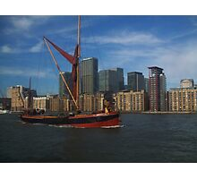 Thames Sailing Barge Photographic Print