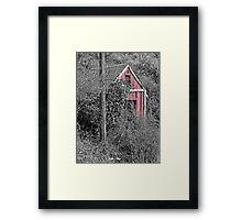 EQUIPMENT SHED Framed Print