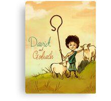 David & Goliath Canvas Print