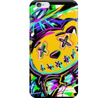Abstract Art -- Stiched Bear with Bow Tie iPhone Case/Skin