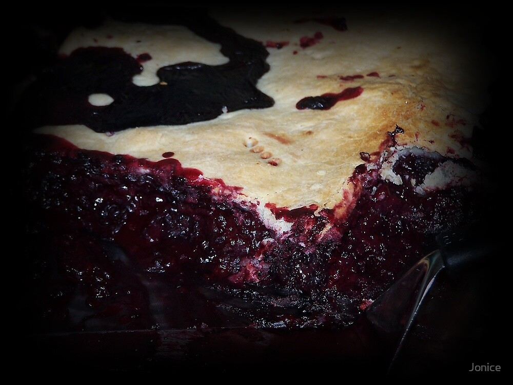 Homemade Blackberry Cobbler by Jonice