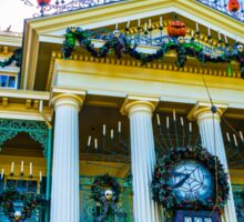 Haunted Mansion Holiday Sticker