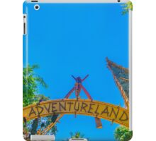 land of adventure iPad Case/Skin