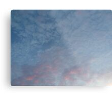 Beautiful Pink Sky Metal Print