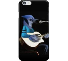 **¨*•MY BLUE JAY PLAYING GUITAR AND SINGING ME A SONG PICTURE /CARD>> ALSO ANIMATED HIM **¨*• iPhone Case/Skin