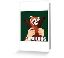 PABULOUS Greeting Card