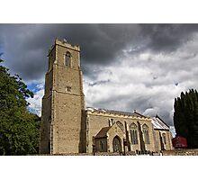 St Helen, Ranworth Photographic Print