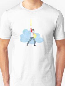 Mal Winter, Hero of the Cloud Runners Unisex T-Shirt