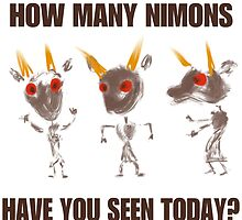 How Many Nimons Have You Seen Today? by sepdet