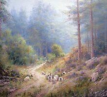West Wood, Northumberland by JoeHush