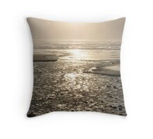 Ocean of Fire Throw Pillow
