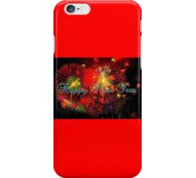 Happy New Year Fireworks iPhone Case/Skin