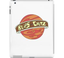 Blips and chitz logo from Rick and Morty in color iPad Case/Skin