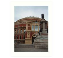 The Royal Albert Hall Art Print