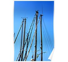 Masts. Poster