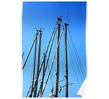 Masts. Poster