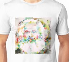 KARL MARX - watercolor on paper Unisex T-Shirt
