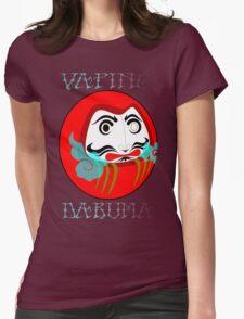 vaping daruma Womens Fitted T-Shirt
