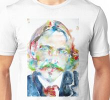 ROBERT LOUIS STEVENSON - watercolor portrait Unisex T-Shirt