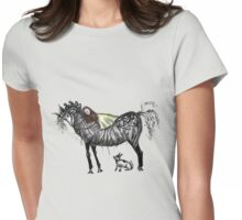 Night mare Womens Fitted T-Shirt