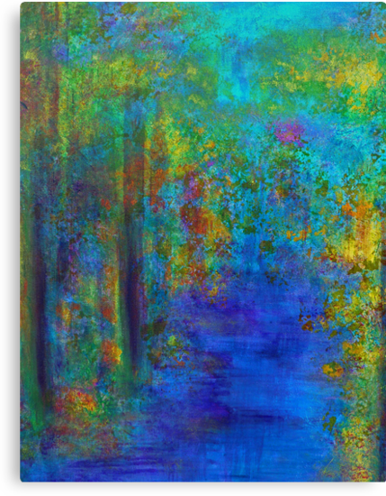 Monet Woods and Water by ClaireBull