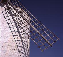 Windmill blade - Aspa de Molino- (Campo de Criptana) by Rafael López