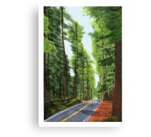On The Avenue Canvas Print