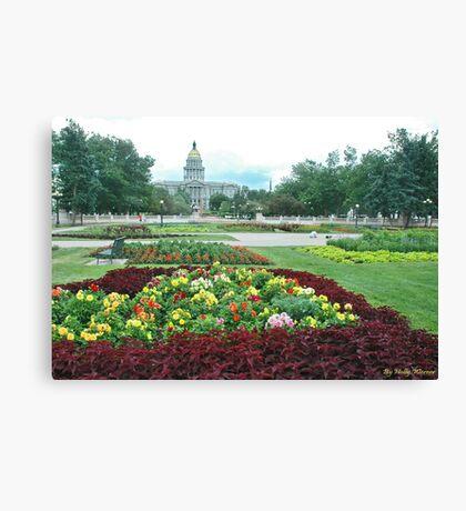 Colorado Capital Canvas Print