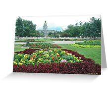 Colorado Capital Greeting Card