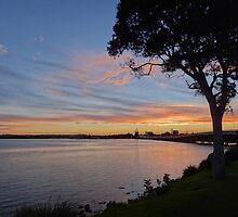 Forster winter sunset by kelliejane
