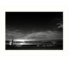Acadian train car Art Print