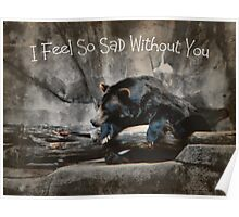 I Feel So Sad Without You Poster