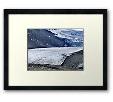 Athabasca Glacier (1) Framed Print