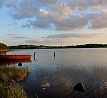 Boat at Rest Brackley Lake by Julesrules