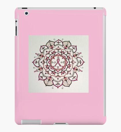 Pink Ribbon Mandala iPad Case/Skin