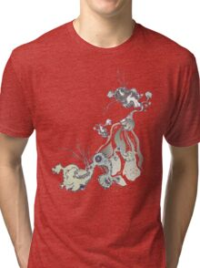 in the future there are definitely no bird baths ... Tri-blend T-Shirt