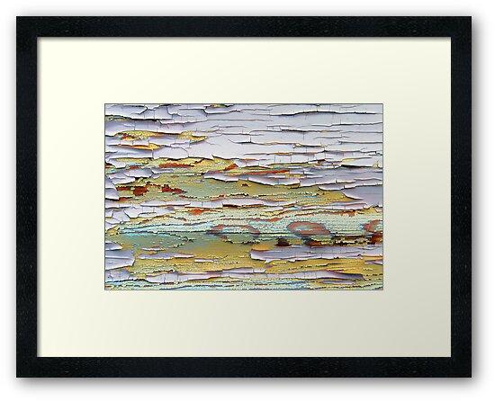 The Many Colors of Peeling Paint by Jennifer Hulbert-Hortman