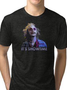 beetle juice showtime Tri-blend T-Shirt