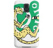 World in the palm of your hand (Green) Samsung Galaxy Case/Skin