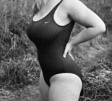 Curvy Swimsuit Girl by olivercook
