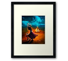 Dance Like a Dervish II Framed Print