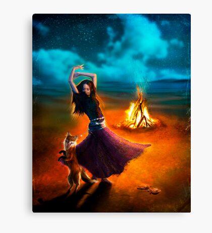 Dance Like a Dervish II Canvas Print