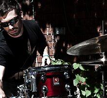 Drummer's set up. by atlasthetitan