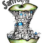 Santorini keeps the doctor away by Jenny Wood
